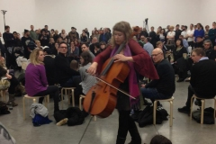 White Cube Gallery, London.  Christian Marclay Exhibition/London Sinfonietta