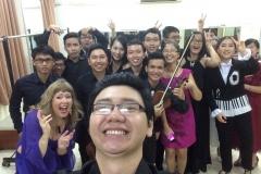 backstage Saigon Opera House 2015